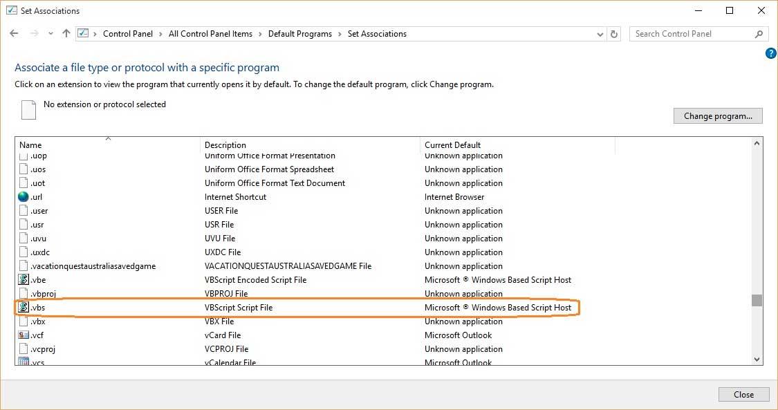Task Scheduler does not invole Windows Based Script Host - Windows