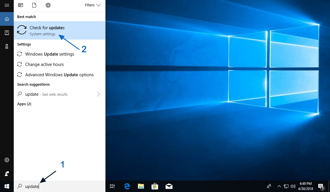 new windows 10 update issues