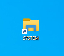 New system shortcut