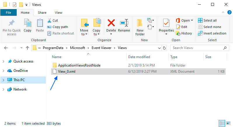 Windows 10 v1903, v1809 Updates Break Event Viewer Custom Views