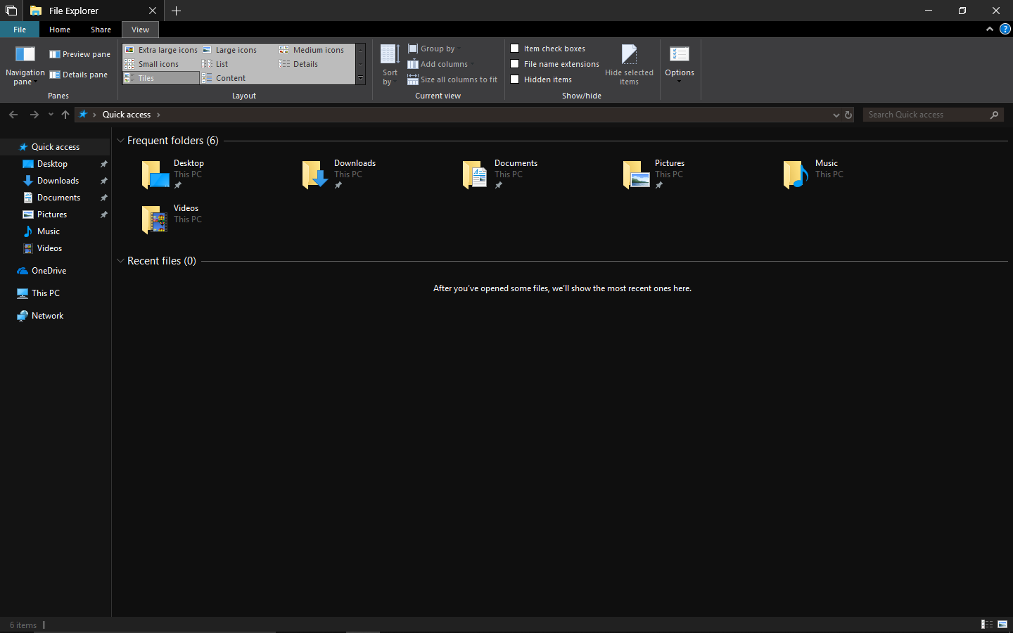 Microsoft Now Has a Usable Dark Theme for File Explorer in