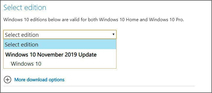 How to Download the Windows 10 1909 ISO From Microsoft