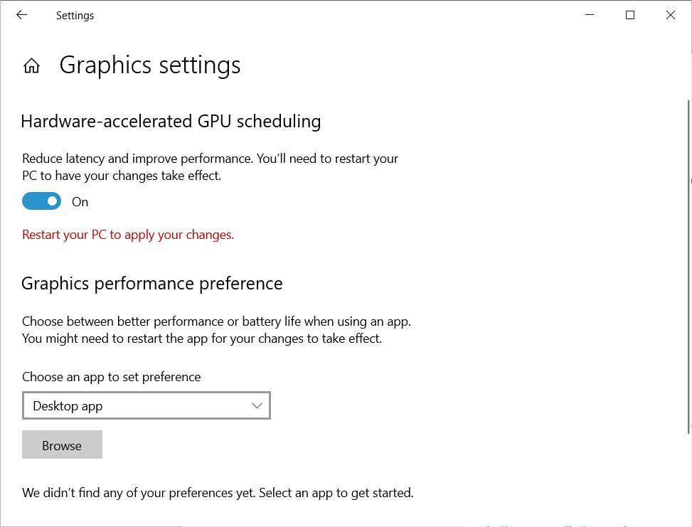 Nvidia adds Windows 10 2004 GPU scheduling to GeForce drivers