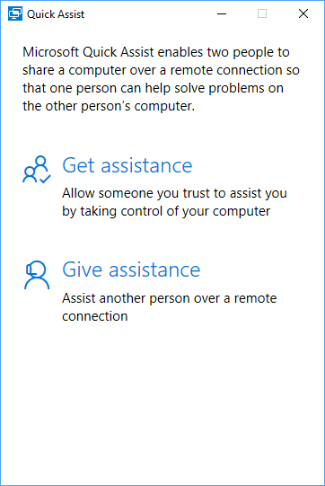 Intro to Quick Assist, Window 10's Built-in TeamViewer-Like Remote