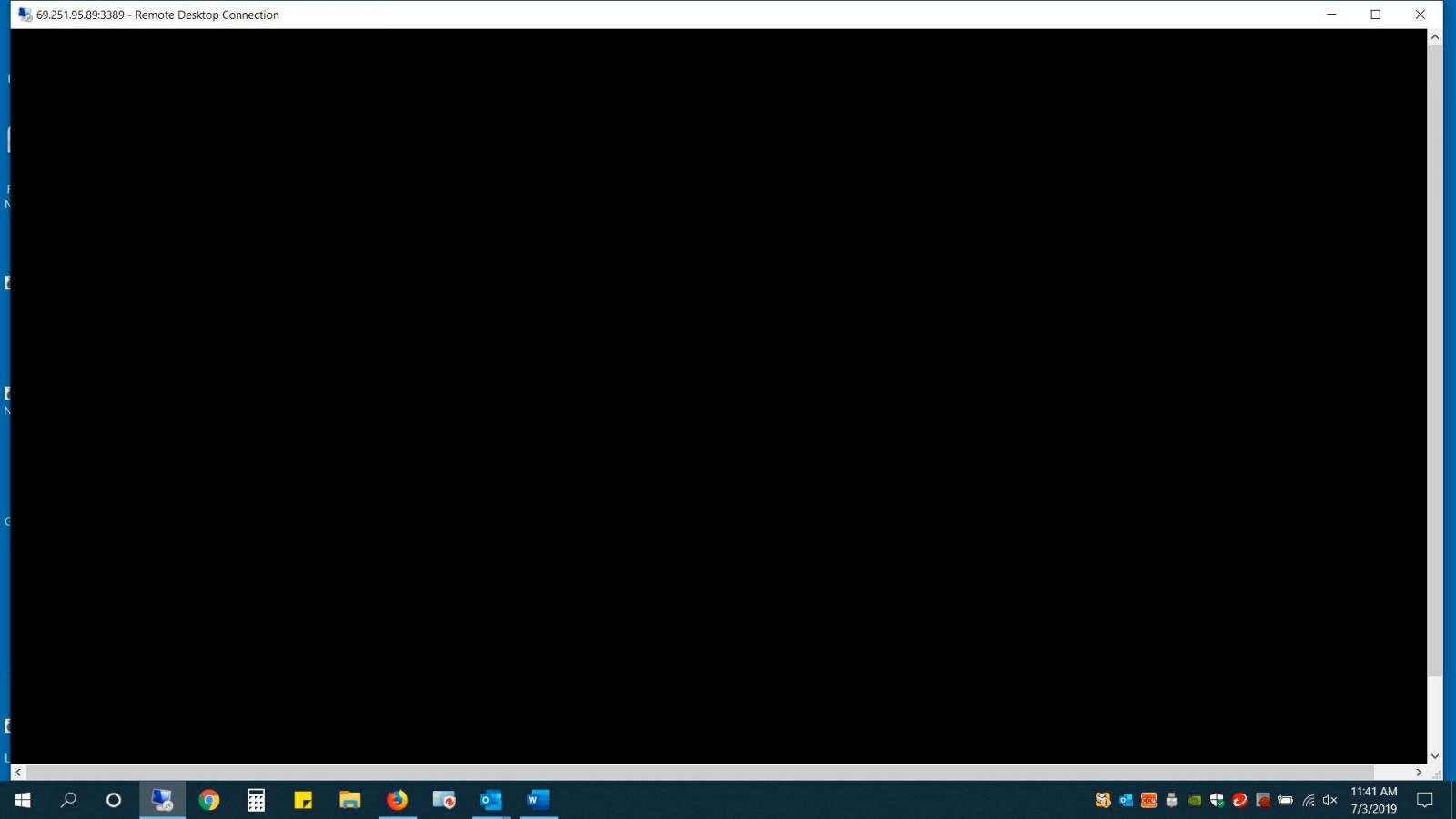 Windows 10 1903 Bug May Show Black Screen in Remote Desktop