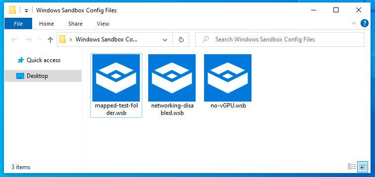 Creating Custom Windows Sandbox Configurations in Windows 10