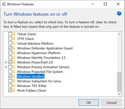 Using the Windows Sandbox to Stay Safe Online