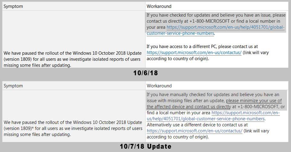 نتیجه تصویری برای Microsoft Says They Can Recover Files Deleted by Windows 10 October 2018 Update