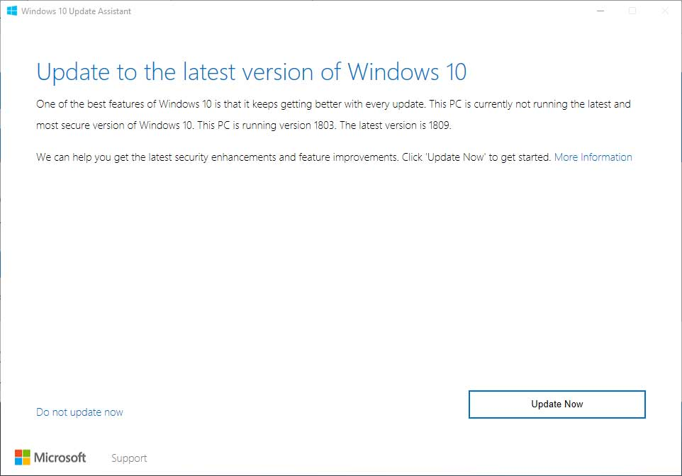 Windows 10 October 2018 Update Is Now Available, Full Rollout on the 9th