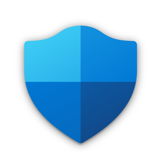 The new Windows Security icon as it appears on the taskbar.