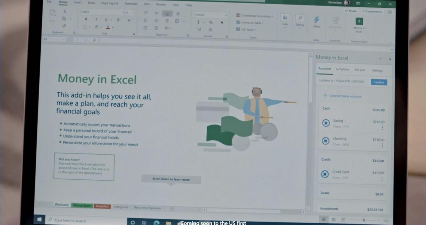 Money in Excel Microsoft 365