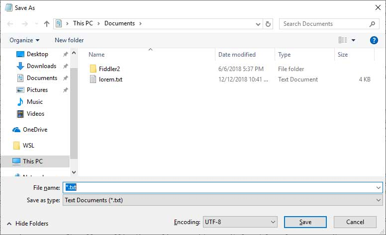 Windows 10 Notepad is Getting Better UTF-8 Encoding Support