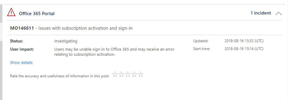 Microsoft Office 365 Having Login And Activation Issues