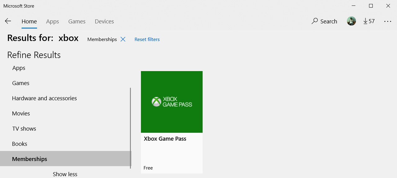 "Microsoft Testing ""Memberships"" Subscription Section in"