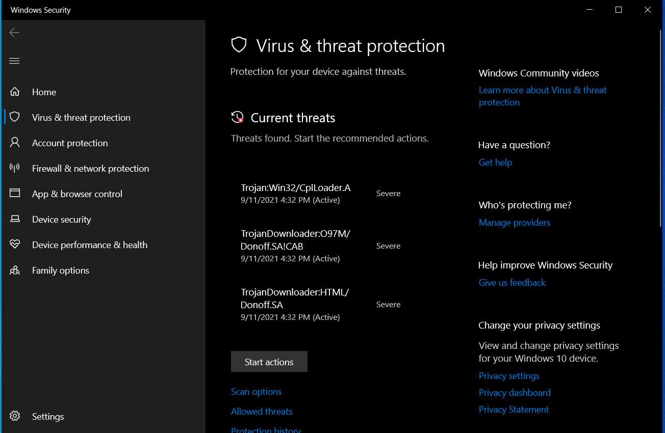 Microsoft Defender bloquea las vulnerabilidades de CVE-2021-40444