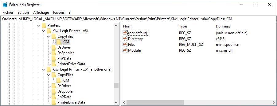 Configuración del registro de archivos específico de la cola