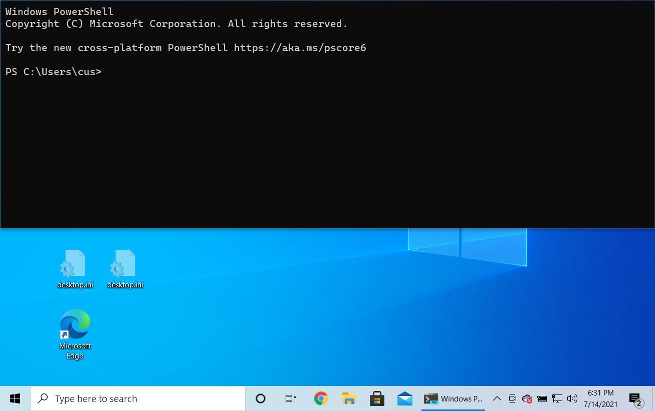 Windows Terminal Quake mode