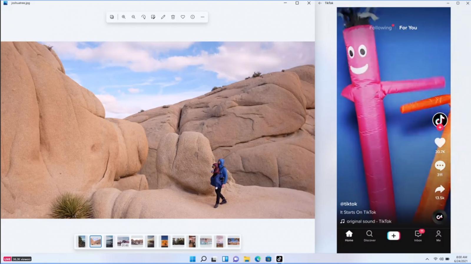 Executando o aplicativo TikTok Android no Windows 11