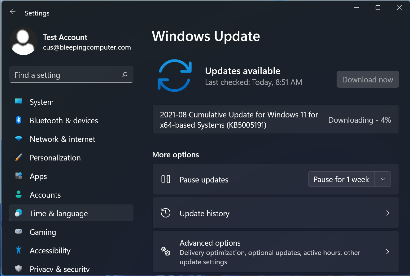 Receiving updates after being blocked from Windows 11 insider program