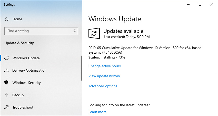 Microsoft Releases Windows Updates to Fix GOV UK Connection