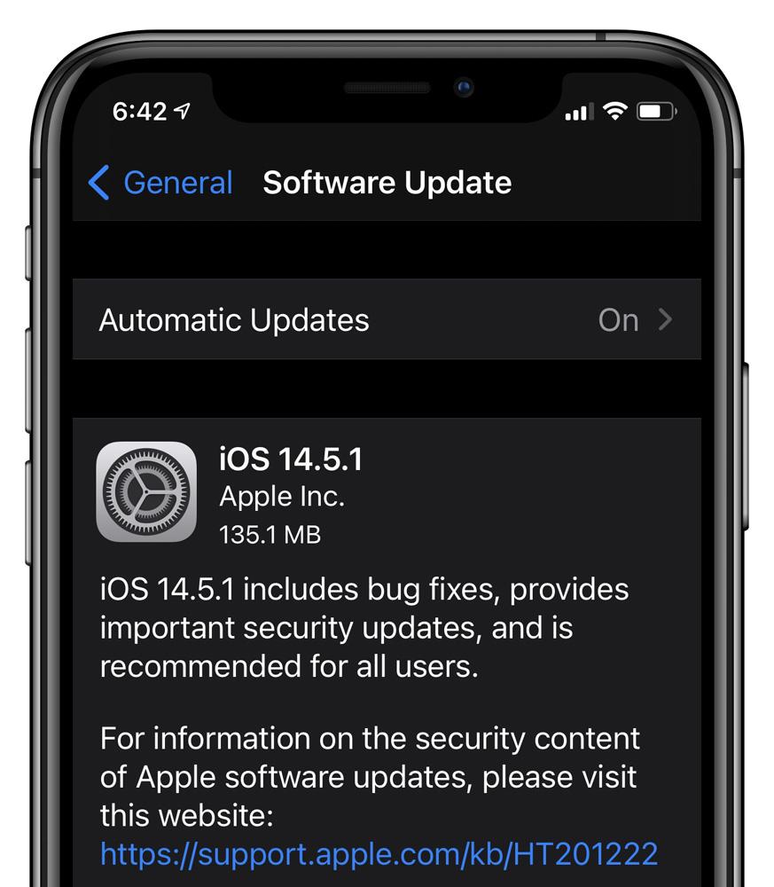iOS 14.5.1