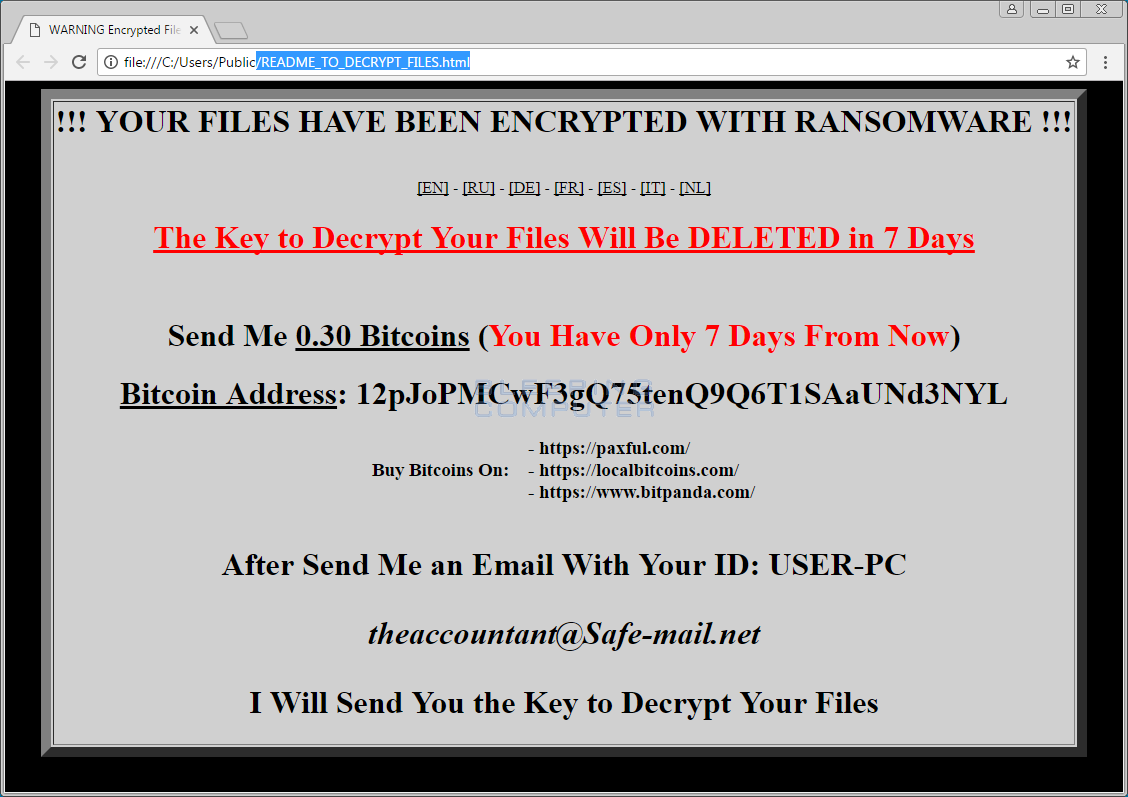 Lawrence Abrams \u2013 Page 3 \u2013 Malware Protection For Small Businesses ...