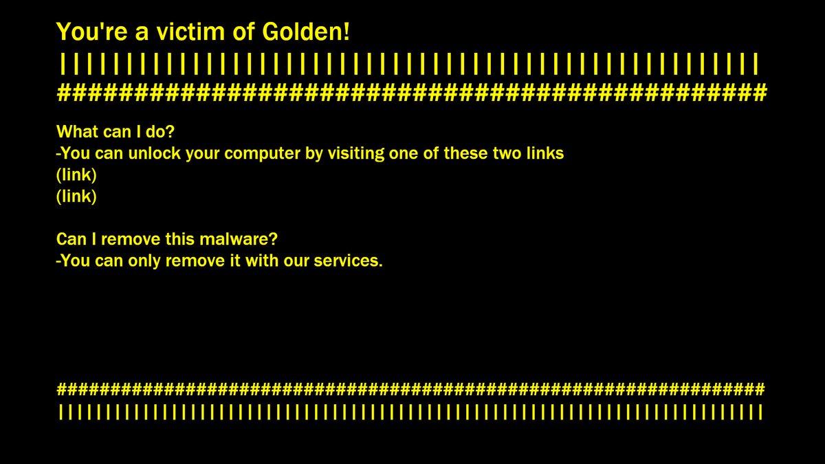 Golden-ransomware