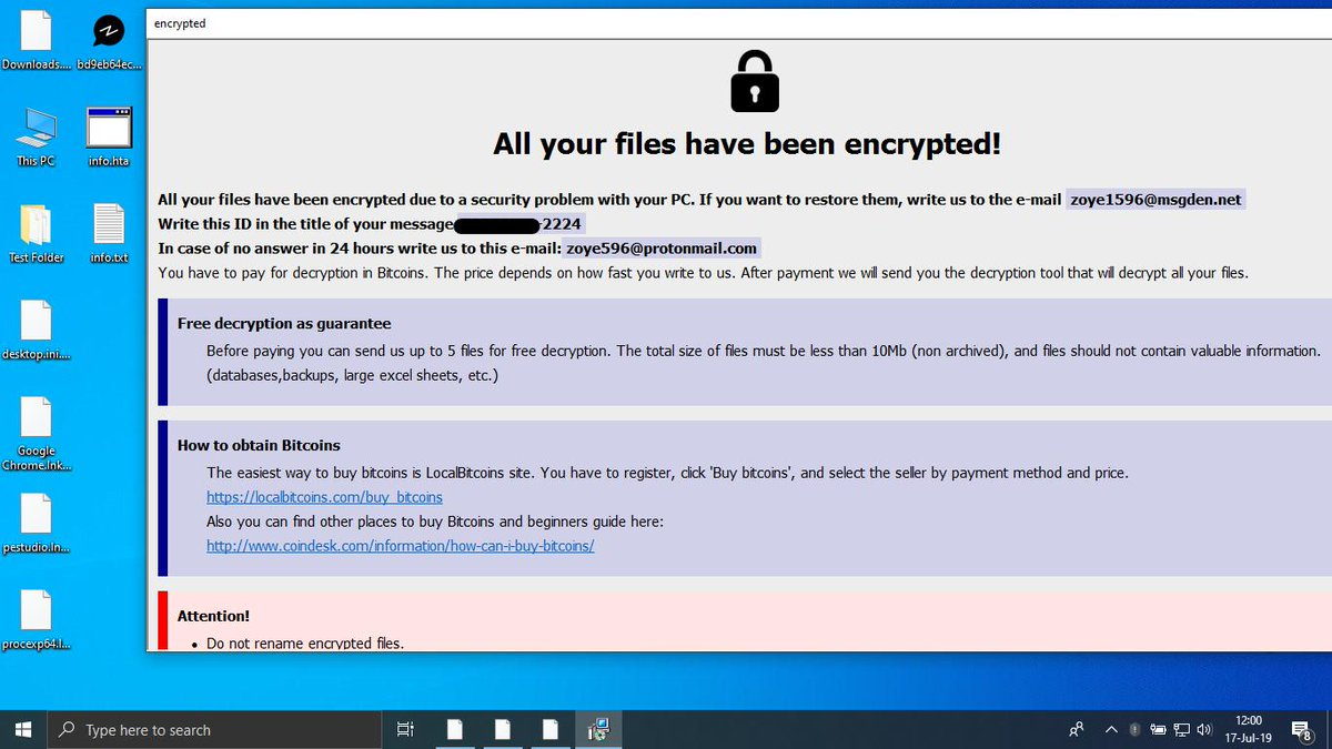 The Week in Ransomware - July 19th 2019 - Targeted Attacks