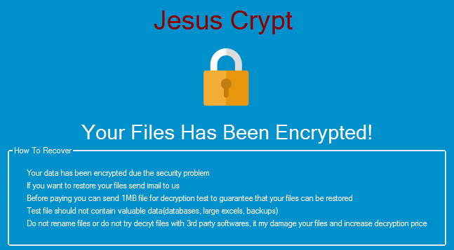 The Week in Ransomware - November 15th 2019 - Holy Ransomware