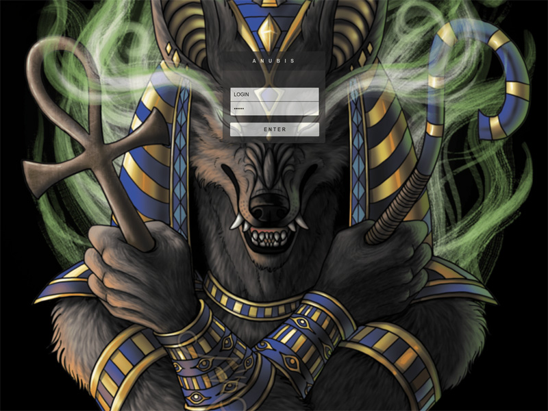 Anubis stealer panel