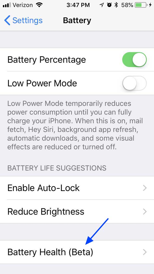 Apple Releases The Battery Health Beta Diagnostic Tool In Ios 113