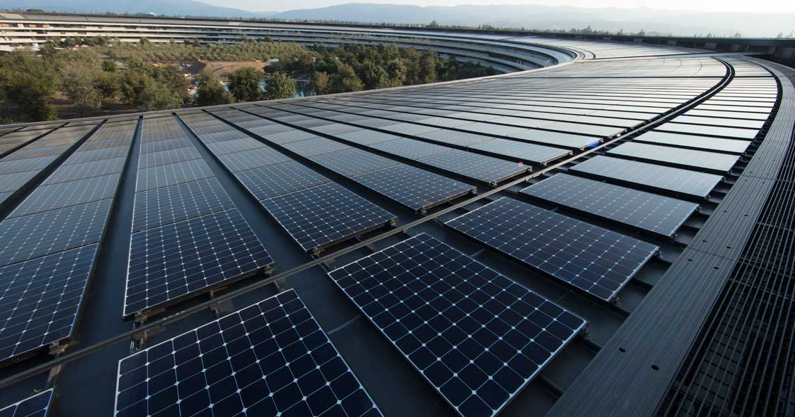 All Apple Facilities are now Powered by Clean Energy