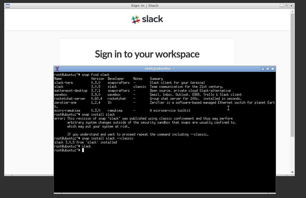 Once Slack Is Installed You Can Launch Your Desktop And Execute The Command From A Terminal
