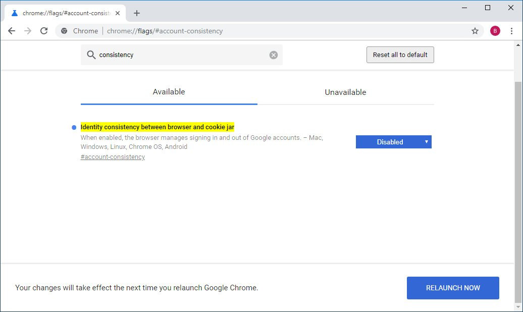 Chrome 69 Keeps Google's Cookies After You Clear Browser Data