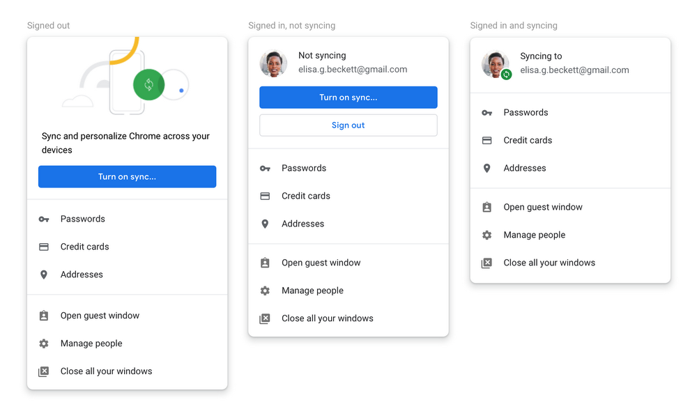 Chrome 70 Lets you Control Automatic Login and Deletes