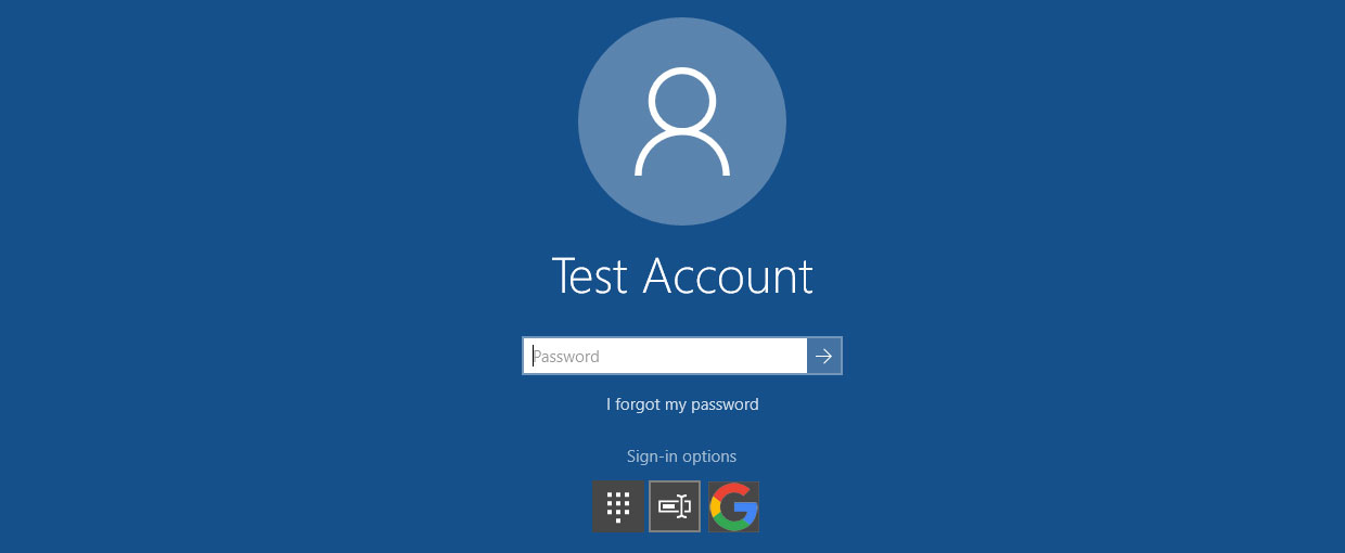 how to enable password on startup windows 10