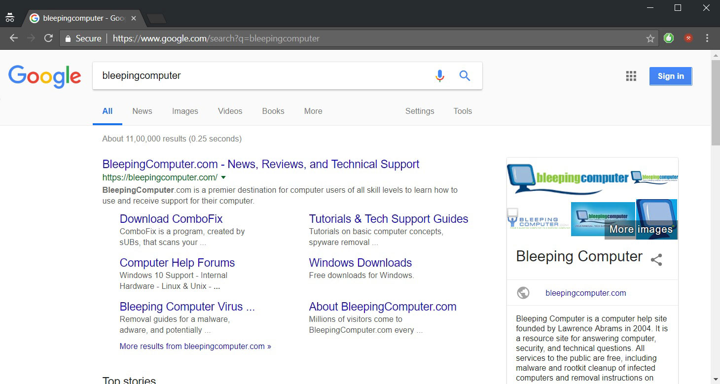 Google Testing Removal of WWW Subdomain from Search Results