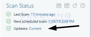 Scan Status