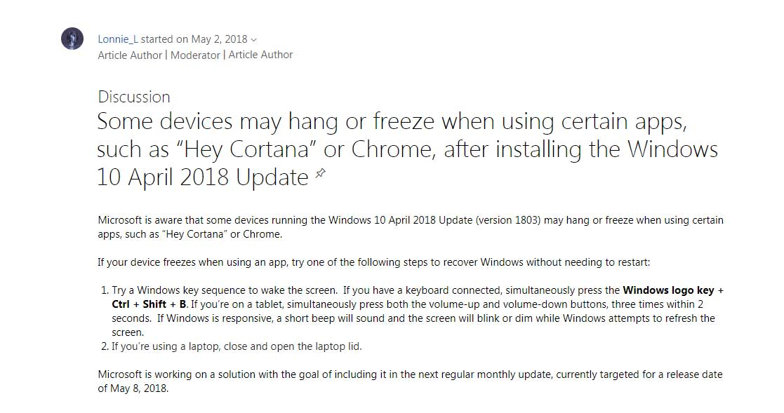 Chrome Users Reporting Freezes & Timeouts After Windows 10