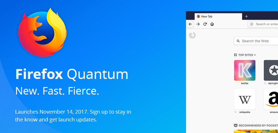Upgrading to Firefox Quantum? Expect Some Add-ons to No Longer