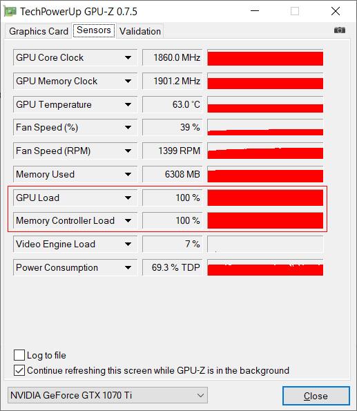 100% GPU utilizing while mining with Norton Crypto