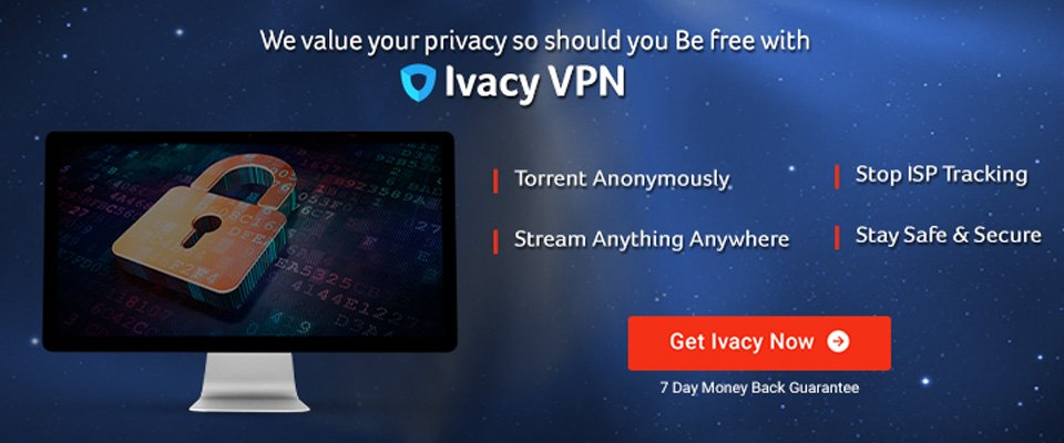 Get a Ivacy VPN 5 Year Subscription for $60 Deal