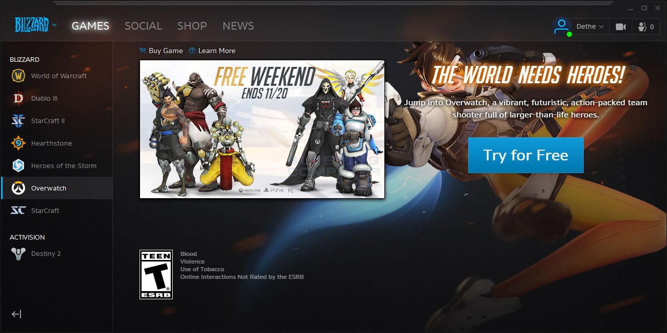 play overwatch free this weekend 50 off black friday deal