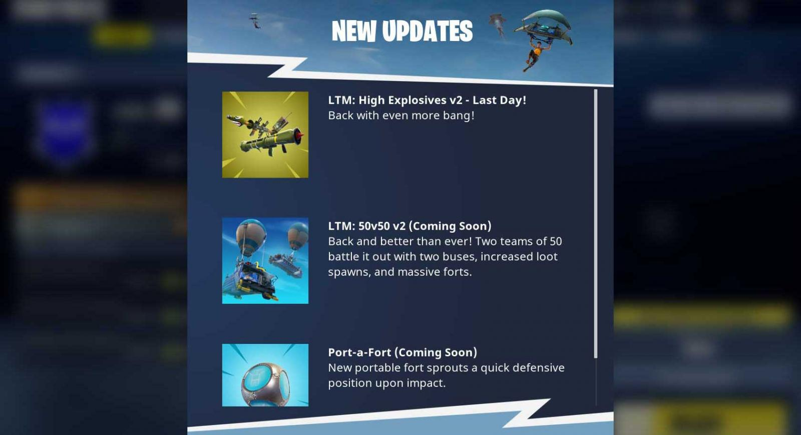 Epic Games Offering Some Free Items Due To Fortnite Server Outages