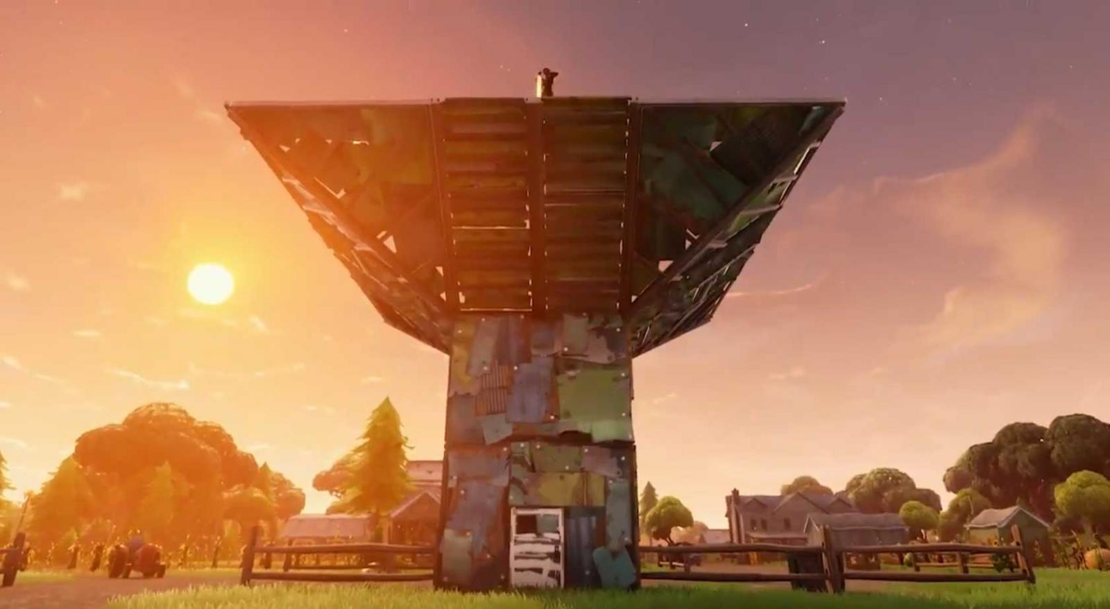 Fortnite Introduces Port-a-Fort Grenades