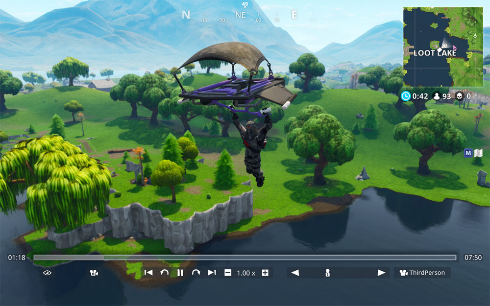 how to change fortnite replay back to a replay