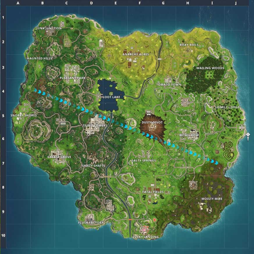 Redesigned Map