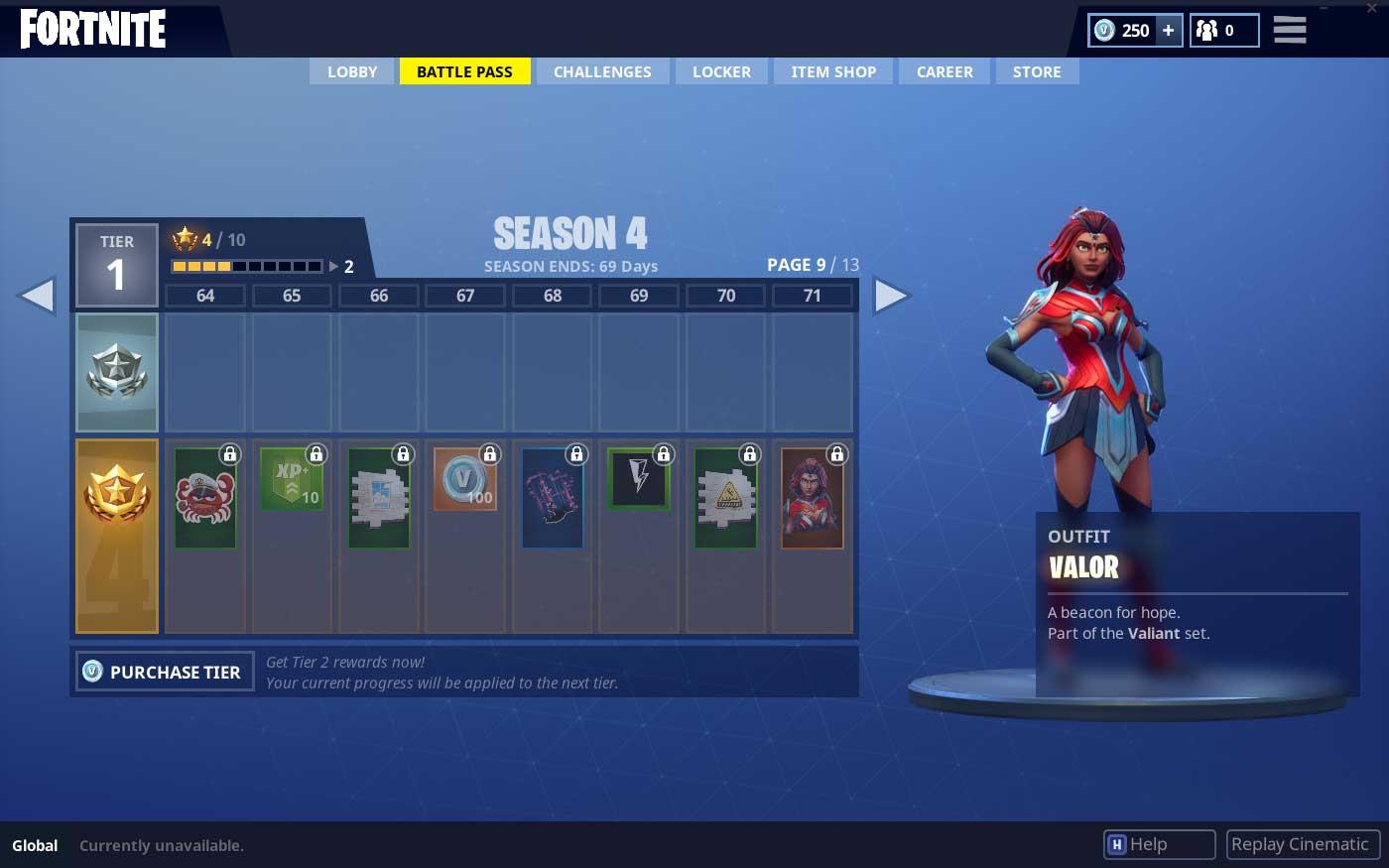 Valor Super Hero Skin