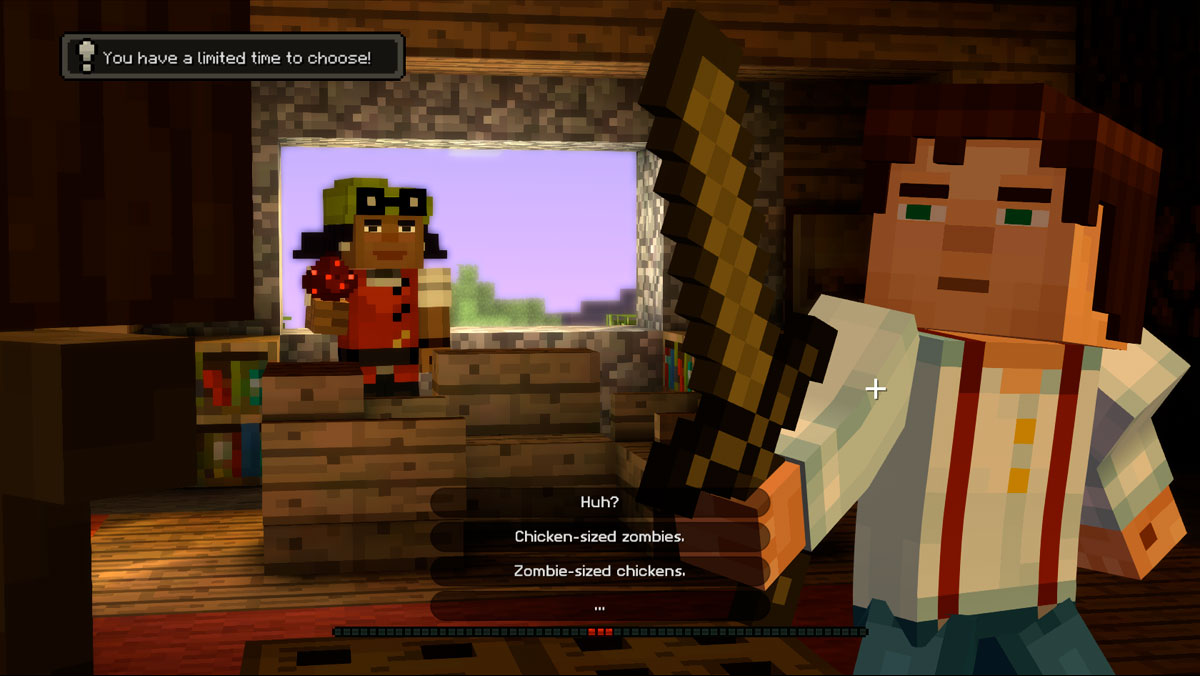 Minecraft Story Mode Is Fun For The Whole Family