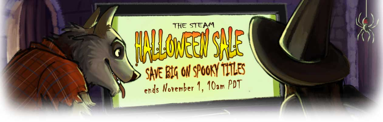 The Steam Halloween Sale Is Here With a Store Full of Treats